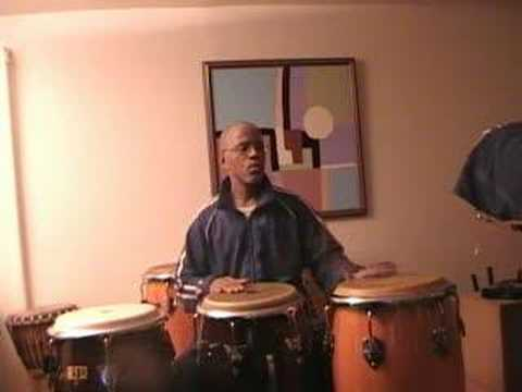 3 Drum Conga  Practice - 3