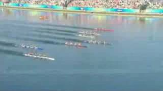 Watch the an unforgettable final of the men's canoe/kayak K4 1000M competition at the Beijing 2008 Summer Olympic Games.http://www.olympic.org/canoe-kayak-flatwater-k-4-1000m-kayak-four-menhttp://www.olympic.org/beijing-2008-summer-olympics