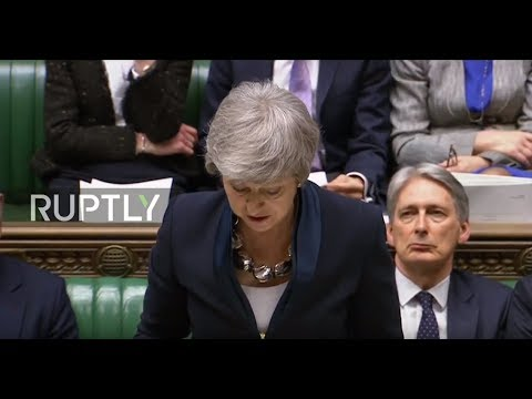 LIVE: May makes statement to Parliament after delaying Brexit vote