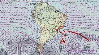 A meteorologista Josélia Pegorim comenta sobre os efeitos da passagem de uma nova frente fria pela costa do Sul e do Sudeste...
