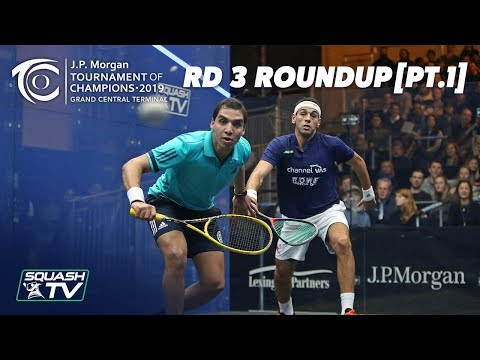Squash: Tournament of Champions 2019 - Men's Rd 3 Roundup [Pt.1]