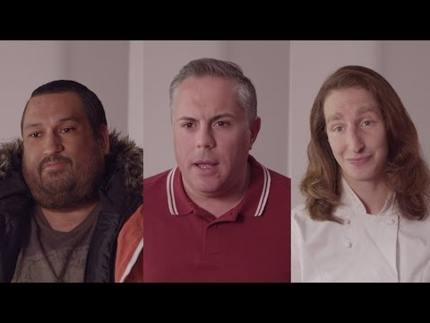Arsenal players in a hilarious mockumentary advert