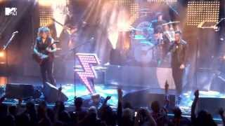 The Killers - Shot At The Night (MTV World Stage 2014) 1080p