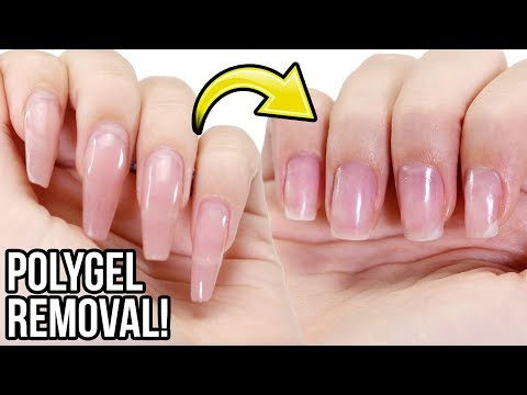 Remove PolyGel Nails: Step By Step How-To Tutorial