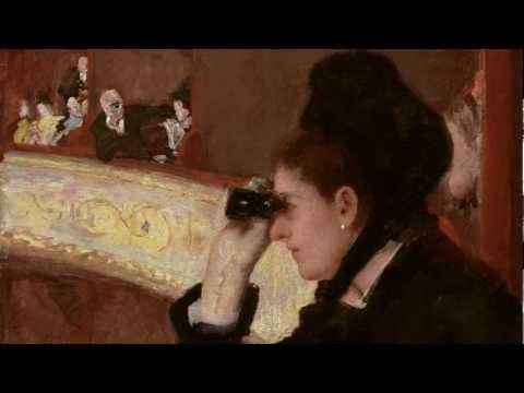 Cassatt Woman In A Loge