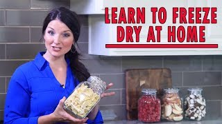 Home Freeze Drying - How It Works