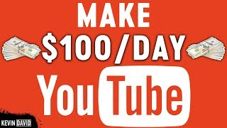 Video Make $100 Per Day On YouTube Without Making Any Videos | Make Money Online MP3, 3GP, MP4, WEBM, AVI, FLV Mei 2019