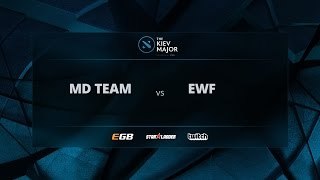 MD Team vs EWF, Game 2, The Kiev Major CIS Open Qualifiers