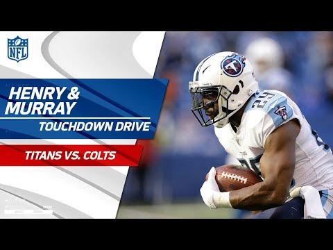 Video: Henry Powers Tennessee Downfield & Murray Caps Off Big TD Drive! | Titans vs. Colts | NFL Wk 12