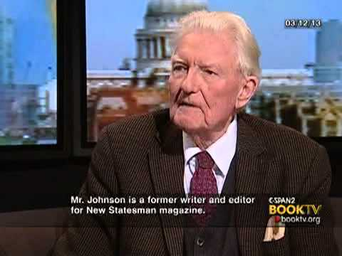 PAUL JOHNSON - Book TV interviewed Paul Johnson in London on Winston Churchill and current day politics. Paul Johnson is the author of more than 40 books. His non-fiction b...