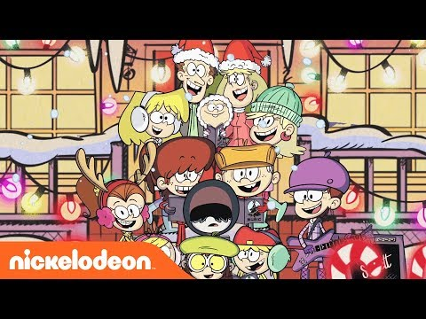 🎄 '12 Days Of Christmas' Loud House Style! Music Video 🎄 | Nick