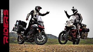 9. V-Strom 1000 vs. KTM 1190 Adventure R in Mongolia. Testimonial
