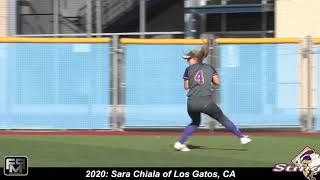 2020 Sara Chiala Softball Skills Video