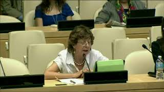 Mabel Bianco's intervention at the  HLPF 2014: http://webtv.un.org