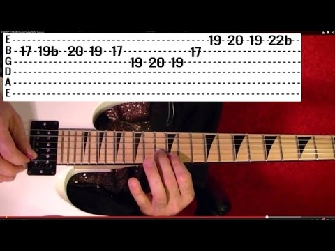 20 MUST LEARN HEAVY METAL RIFFS!! ( 1 of 3 ) Guitar Lesson With Tabs