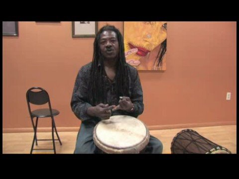 How to Play African Drums : Learning New Sounds on a Djembe Drum
