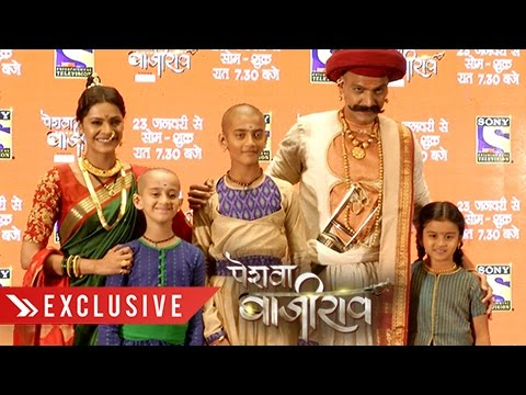 Peshwa Bajirao STARCAST Exclusive INTERVIEW | प�