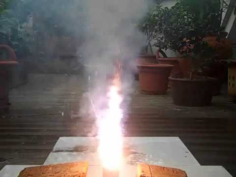 Hexaphenox-PVC resin composite test firing 2.wmv