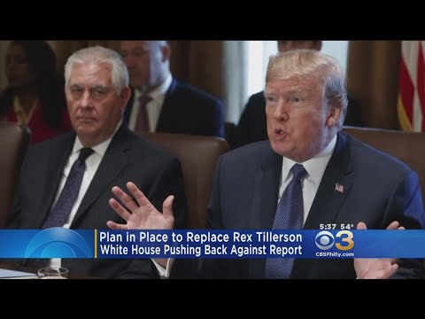 White House Dismisses Report Of Rex Tillerson Replacement