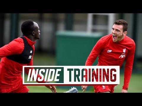 Video: Inside Training: Behind the scenes with goals, games and head-to-heads at Melwood