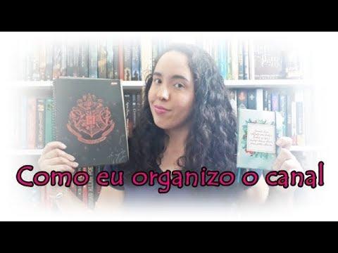 Como eu organizo o canal (#PlanWithMe) | Um Livro e Só