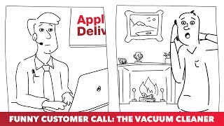 Vacuum cleaners, fires and....WASPS!?? If you thought our other customer calls were buzz-arre, wait until you hear this!