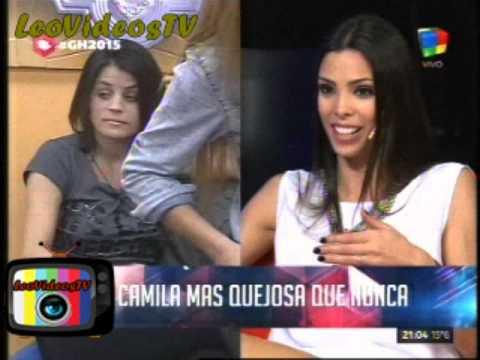 Camila mas gritona que nunca GH 2015 #GH2015 #GranHermano