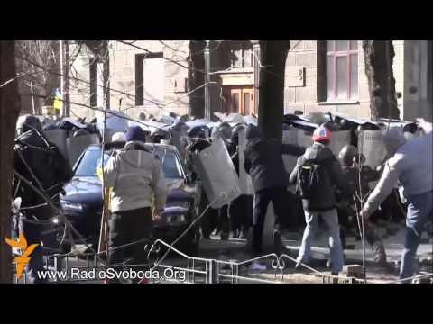 Kiev Ukraina 18.02.2014 (видео)