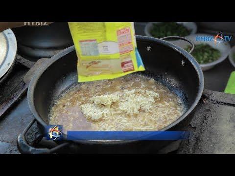 , egg maggi recipe Hyderabad Street Food