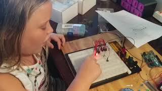 Samantha introducing her Proton Pack circuit