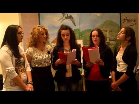 Kućo moja u Krajini tamo - peva grupa UNA - na promociji knjige Marijane Borković.