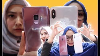 Video SAMSUNG S9 vs iPhone X JATUH? MANA YANG PECAH?? MP3, 3GP, MP4, WEBM, AVI, FLV November 2018
