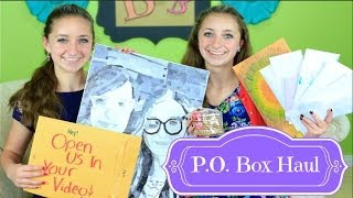 P.O. Box Haul | Brooklyn and Bailey