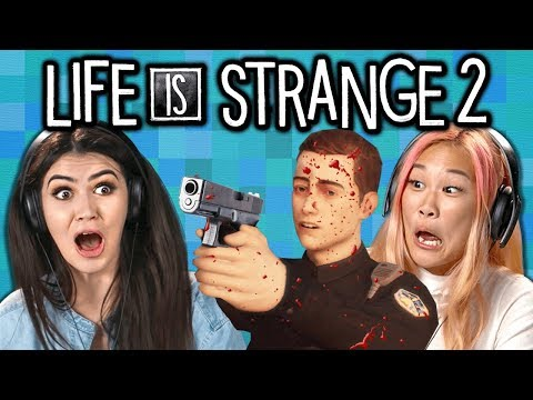 LIFE IS STRANGE 2 w/ Teens & College Kids (React: Gaming)