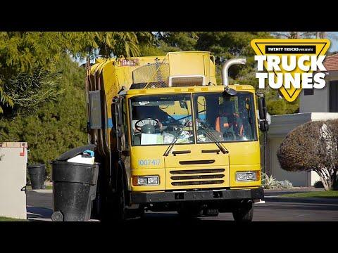 Kids Truck Video - Garbage Truck