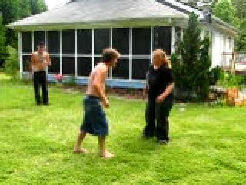 fat woman wrestling