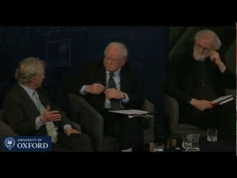 debate - Debate at the Sheldonian Theatre, Oxford, February 23rd 2012 with Prof Richard Dawkins, Archbishop of Canterbury Dr Rowan Williams and Philosopher Sir Anthon...