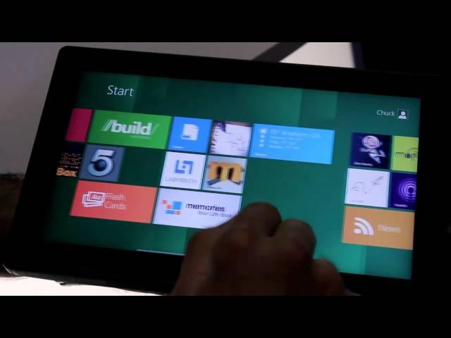 Nvidia Kal-El Windows 8 ARM tablet hands-on