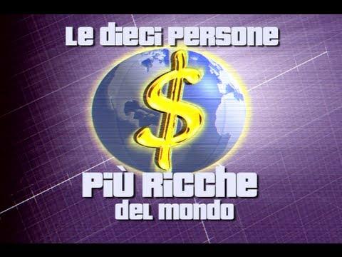 i 10 uomini più ricchi del mondo