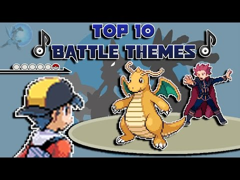 Top 10 Battle Themes/Music In Pokémon