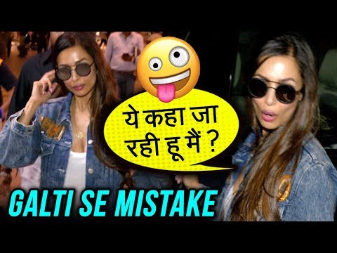 Malaika Arora Forgets Her Own Car Outside Mumbai A