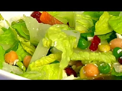 Romaine Lettuce Salad : Healthy Salad Recipes