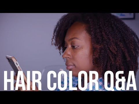 Hair Color Q&A  Answering Your Questions