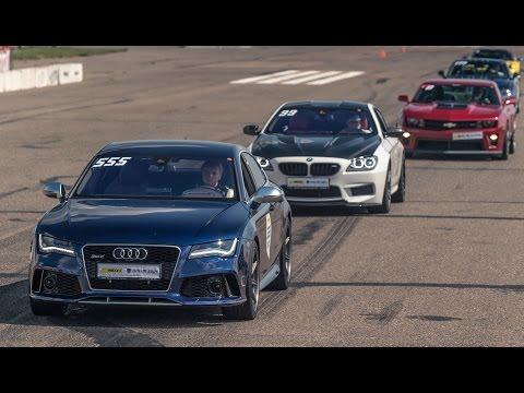 Audi RS7 vs Nissan GT-R R35 vs Audi R8 V10