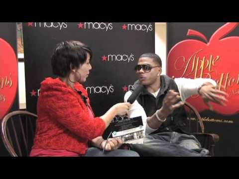 Nelly, Apple Bottom Jeans interview on YOUZEEK.com
