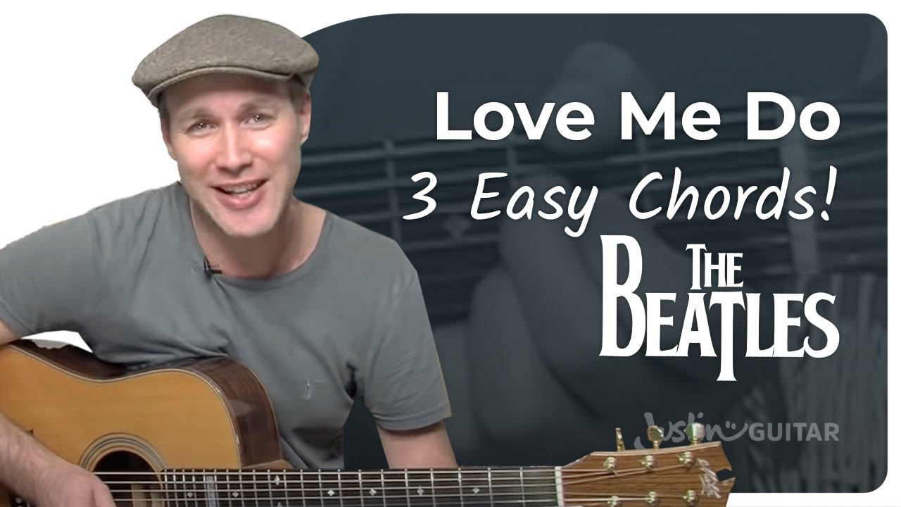 Love Me Do – The Beatles (Very Easy Beginner Song Guitar Lesson BS-108) How To Play