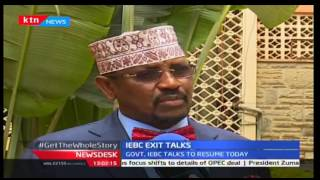 News Desk: Government,IEBC Exit Talk Resumes, 30/9/2016