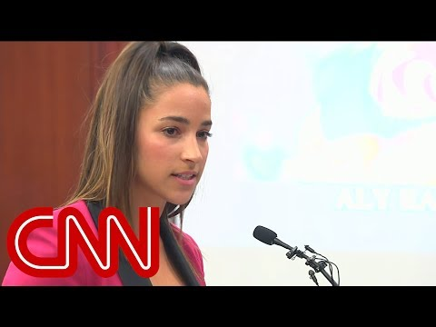 Two-Time Olympian Aly Raisman confronts Larry Nassar in court