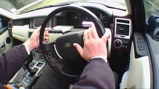 2009 RANGE ROVER Diesel Test Drive. (Not Top Gear) EXCLUSIVE.
