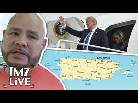 Fat Joe Calls Out Trump Over Puerto Rico Comments | TMZ Live